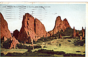 Unusual Rock Formation In Garden Of The Gods P27513
