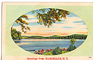 Greetings From Marcellus New York p27534 (Image1)