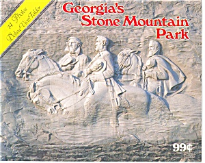 Stone Mountain Georgia Souvvenir Folder P2754