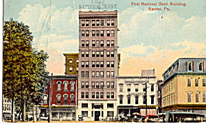 First National Bank Building  Easton  Pennsylvania p27557 (Image1)