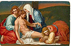 La deposizione dalla Croce Fra Bartolomeo Postcard p27567 (Image1)