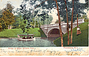 Bridge in Roger Williams Park, Providence (Image1)