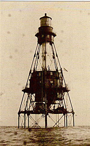 American Shoals Lighthouse, Lower Keys, Florida (Image1)
