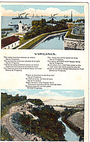 Words to Song Virginia (Image1)