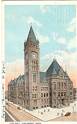 City Hall Cincinnati  Ohio p27633 (Image1)