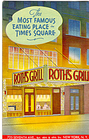 Roth s Grill Times Square New York City p27635 (Image1)