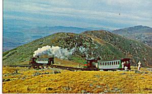 Mt Washington Cog Railway Upper Switch p27668 (Image1)