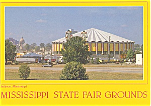 Mississippi State Fair Grounds Postcard p2769 (Image1)