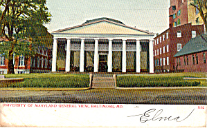 University of Maryland General View p27704 (Image1)