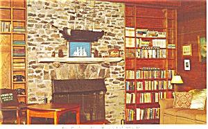Little White House Living Room Postcard p2778 (Image1)