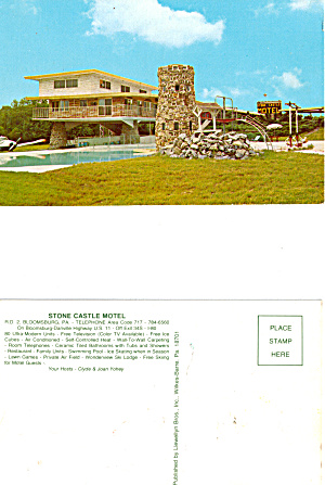 Stone Castle Motel Bloomsburg Pennsylvania p27828 (Image1)