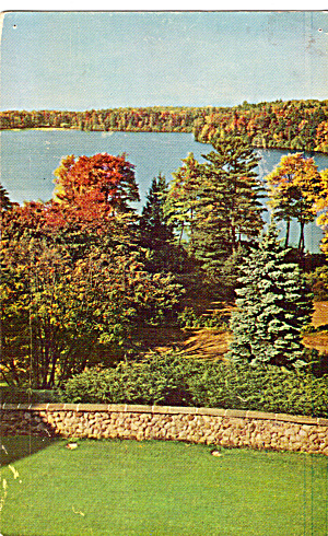View From Lakeside Hotel Eagles Mere Pennsylvania p27845 (Image1)