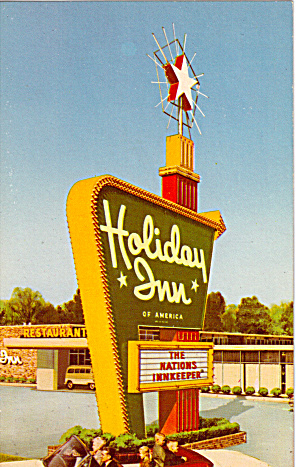 Holiday Inn Boston Heights Ohio Postcard P27846