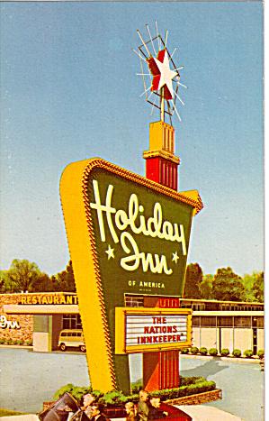 Holiday Inn Boston Heights Ohio Postcard p27846 (Image1)