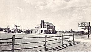 Post Script Motel Wooster Ohio Postcard p27860 (Image1)