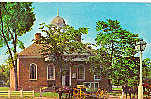 Old Court House, Williamsburg, Virginia (Image1)