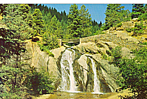 Helen Hunt Falls Colorado Postcard P27942