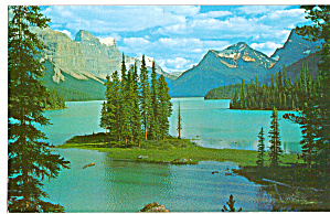 The Narrows, Maligne Lake, Jasper National Park
