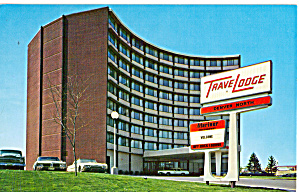 TraveLodge  Denver North Colorado Postcard p27950 (Image1)