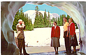 Paradise Inn Snow Tunnel, Mt Ranier National Park (Image1)