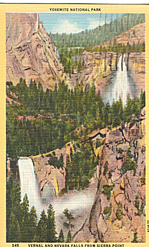 Vernal and Nevada Falls, Yosemite National Park (Image1)