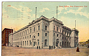 Post Office, San Francisco, California (Image1)