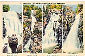 Waterfalls of the White Mountains (Image1)