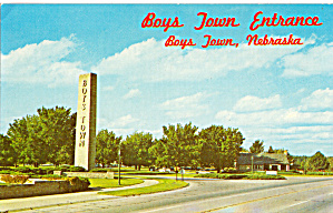 Entrance, Boys Town, Nebraska (Image1)
