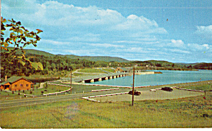 Wilder Dam Connecticut River Postcard P28016