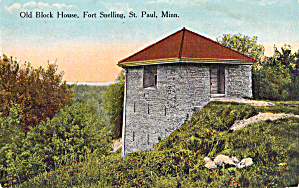 Old Block House, Fort Snelling, St Paul, Minnesota (Image1)