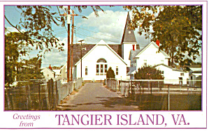 Swain Memorial Methodist Church, Tangier Island (Image1)