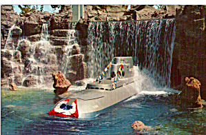 Submarine Falls Tomorrowland  Disneyland  p28040 (Image1)