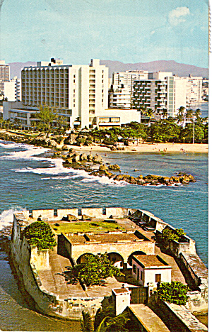 Fort Jeronimo and Condodo Section, San Juan (Image1)
