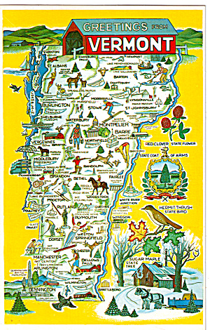 Four Season Map of Vermont (Image1)