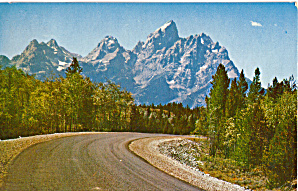 Grand Teton Peaks, Grand Teton National Park (Image1)