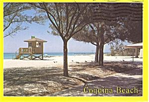 Coquina Beach FL Postcard p2805 (Image1)