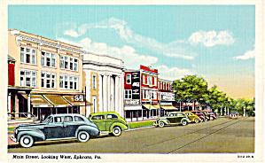 Main Street Ephrata Pennsylvania p28061 Cars 30s (Image1)