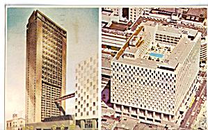 San Francisco Hilton Postcard p28070 (Image1)
