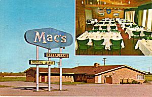 Mac s Restaurant Jamestown North Dakota p28081 (Image1)