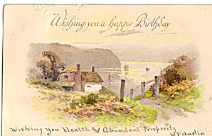 Farm Scene Birthday Card p28095 (Image1)