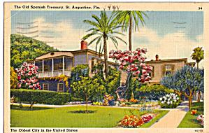 Old Spanish Treasury St Augustine Florida p28107 (Image1)