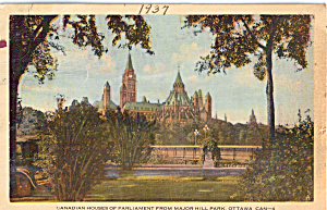 Houses Of Parliment, Ottawa, Ontario