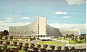 The Washington DC Hilton Postcard p28165 (Image1)