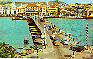 Queen Emma Pontoon Bridge, Curacao N.a.