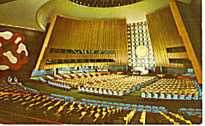 General Assembly Hall United Nations P28216