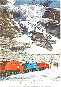 Columbia Icefield Alberta Canada Postcard (Image1)