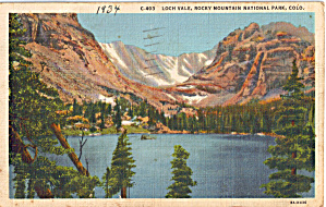 Loch Vale in Taylor Gorge, Rocky Mountain National Park (Image1)