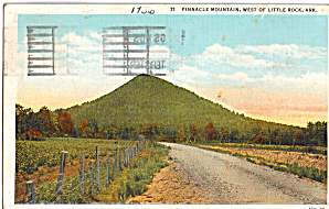 Pinnacle Mountain, West of Little Rock, Arkansas (Image1)