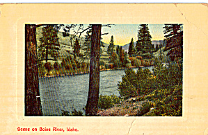 Scene on Boise River, Idaho (Image1)