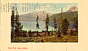 Red Fish Lake, Idaho (Image1)
